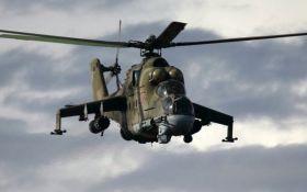 В Сирии разбился боевой вертолет РФ, есть погибшие