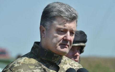 Порошенко дав усім військам наказ не розслаблятися до перемоги на Донбасі