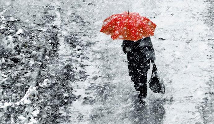 Погода на сегодня в Украине: снег и дожди, температура днем от +2 до +12