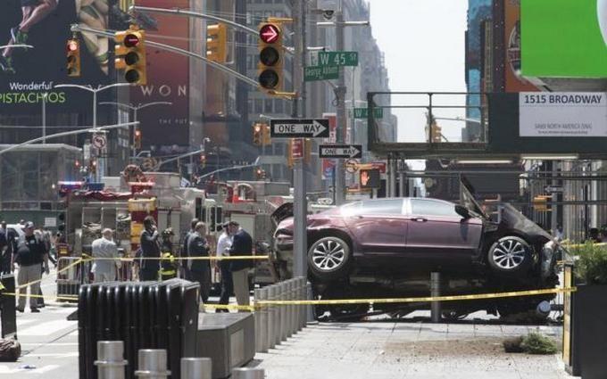 Нью-Йоркский шофёр, въехавший втолпу людей, признался вжелании всех уничтожить