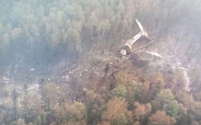 У Росії знайшли літак, що зазнав катастрофи: опубліковані фото і відео