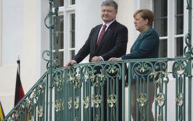 Порошенко рассказал, о чем договорился с Меркель в Берлине