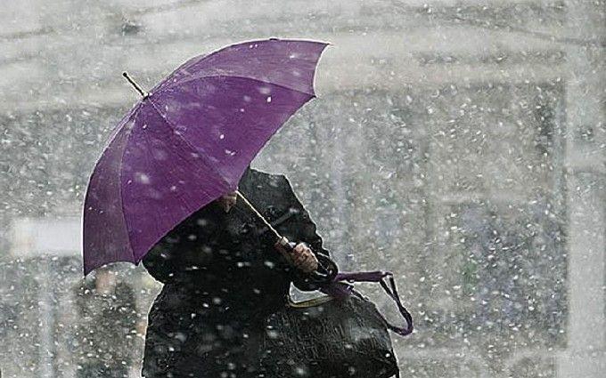 На Украину надвигается снежный шторм