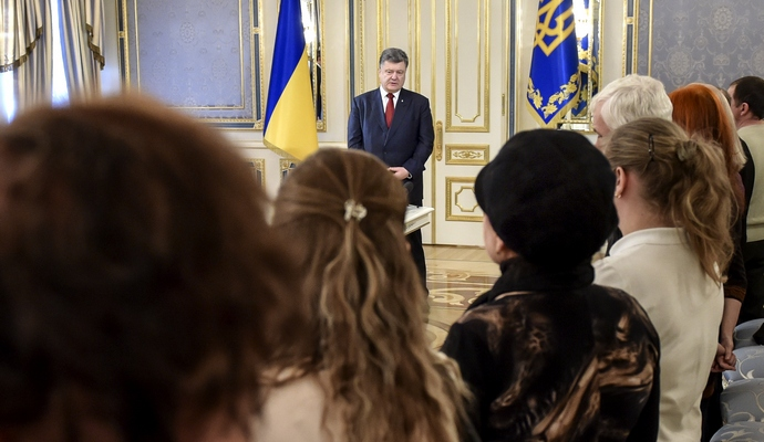 Президент України посмертно нагородив військових
