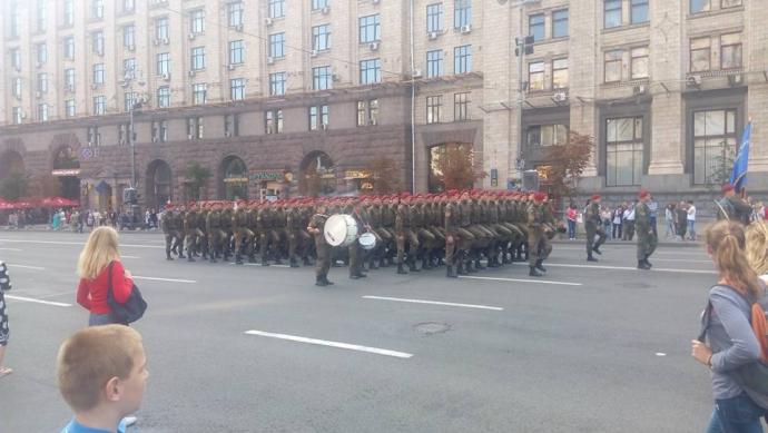 Краса і гордість: в соцмережах захоплюються фото з репетиції параду в Києві (1)
