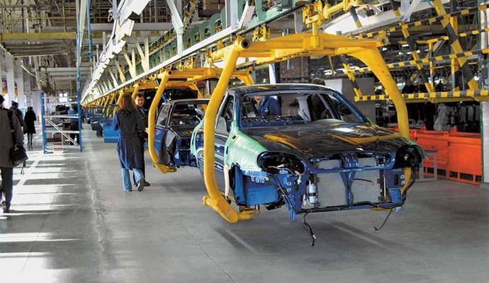 Обсяги виробництва автомобілів в Україні сильно скоротилися