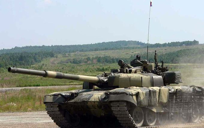 Нові танки з військторгу Путіна помічені на Донбасі: з'явилися фото