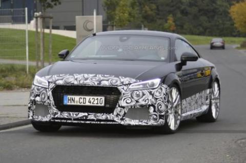Audi TT-RS Coupe проходить тести у власному кузові (18 фото) (8)