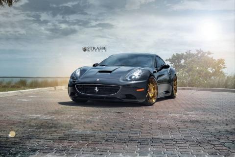 Ferrari California на дисках від Strasse Wheels (10 фото) (5)