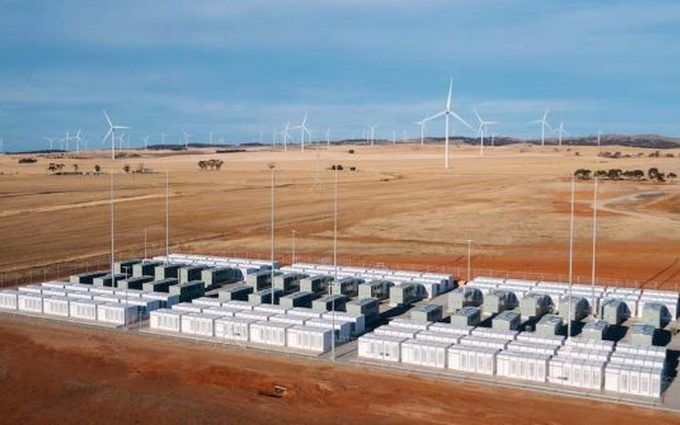 В Австралии запустили крупнейшую в мире батарею от Tesla
