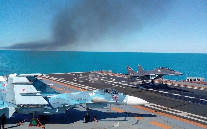 Падение российского истребителя в море: озвучены причины