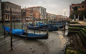 Гондоли в калюжах: мережу вразили фото посухи у Венеції