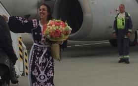 Как Джамала вернулась в Украину с Евровидения: появилось видео