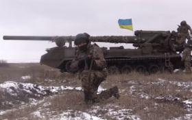 На Донбасі випробували потужні гармати, здатні вражати ворожу силу ядерним пострілом: відео