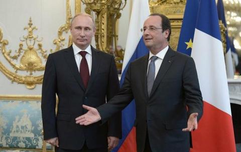 Олланд висунув Путіну три умови по Сирії - ЗМІ (1)