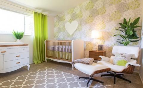 Круті ідеї, який допоможуть з оформленням дитячої спальні в стилі Mid-centry modern (17 фото) (14)