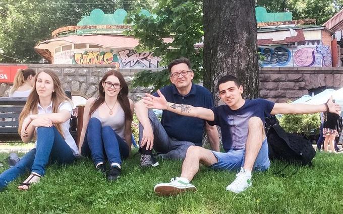 Російський блогер показав нове захоплююче фото з Києва