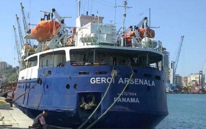 В МИД отреагировали на аварию российского корабля с украинцами на борту в Черном море