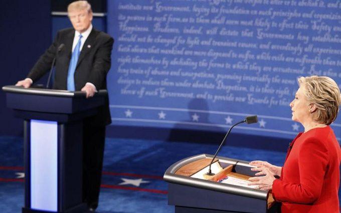 Нічию скатали: соцмережі розійшлися в оцінці дебатів Трампа і Клінтон