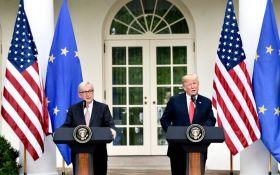 Неожиданное фото: президент Еврокомиссии оправдался за поцелуй с Трампом
