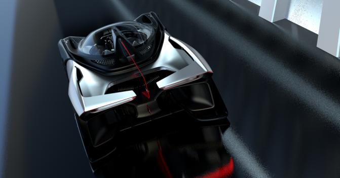 Faraday Future показала концепт своего спортивного электромобиля FFZERO1 (5 фото, видео) (2)