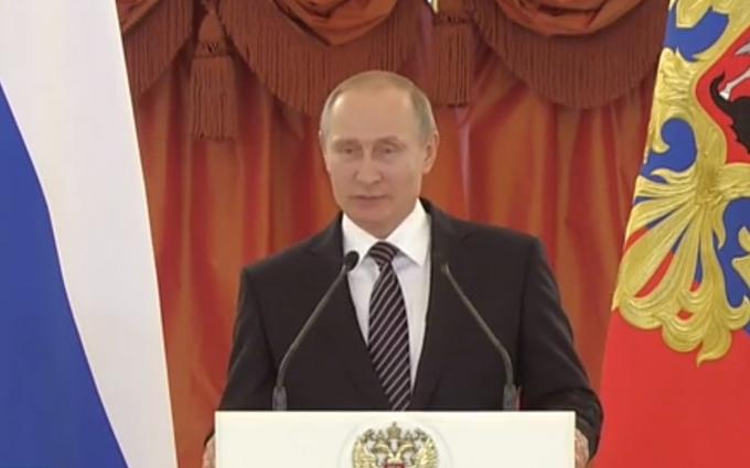 Як Путін довів дитину до сліз: опубліковане відео