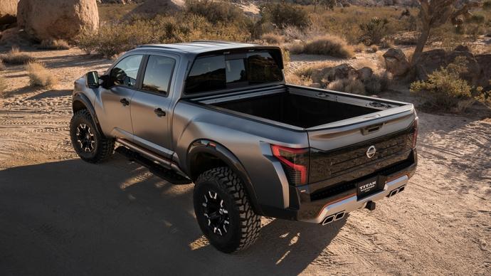Nissan представив войовничий концепт Titan Warrior (4 фото) (3)