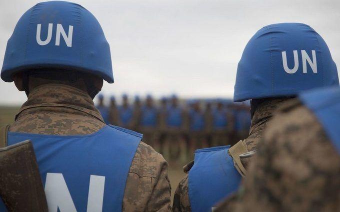 Порошенко: Умовою введення миротворців наДонбас є перемир'я врегіоні