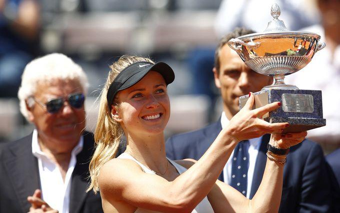 Украинская теннисистка рекордно выиграла супертурнир в Риме