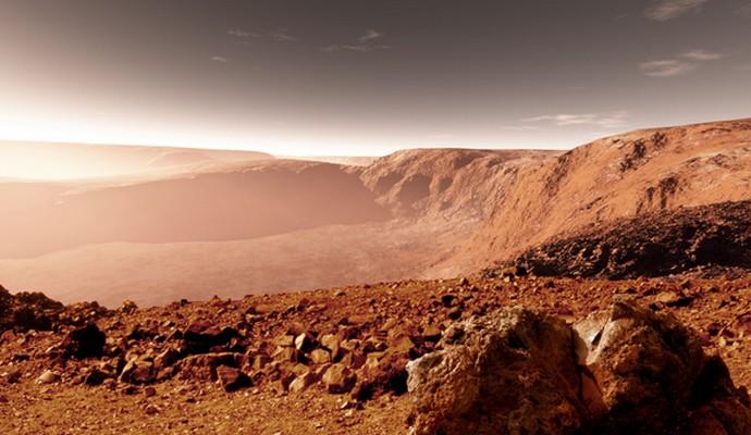 Через 9 лет человек ступит на Марс