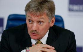Пєсков прокоментував стрімке падіння курсу рубля