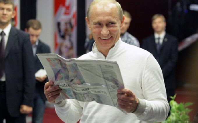 Улюбленій газеті Путіна пригадали дикий фейк про українців