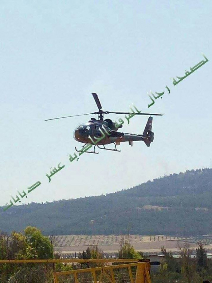 З'явилося відео зі збитим в Сирії бойовим вертольотом (3)