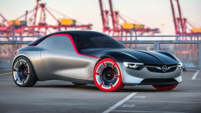 Opel показал прототип маленького заднеприводного купе (7 фото)