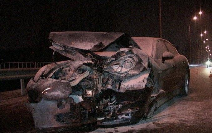 Заместитель Кличко попал в аварию на своем Porsche: обнародовано фото и видео