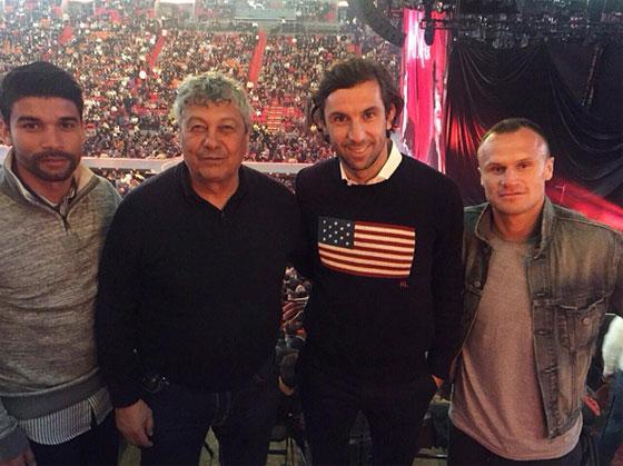 Луческу с подопечными посетил концерт Мадонны