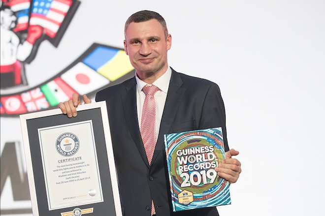 Брати-чемпіони: Віталій і Володимир Кличко потрапили в Книгу рекордів Гіннесса (1)
