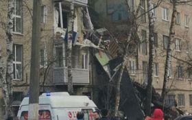 Под Москвой из-за взрыва газа обрушился подъезд пятиэтажки - фото и видео
