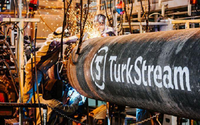 """Росія похвалилася успіхами в будівництві """"Турецького потоку"""""""