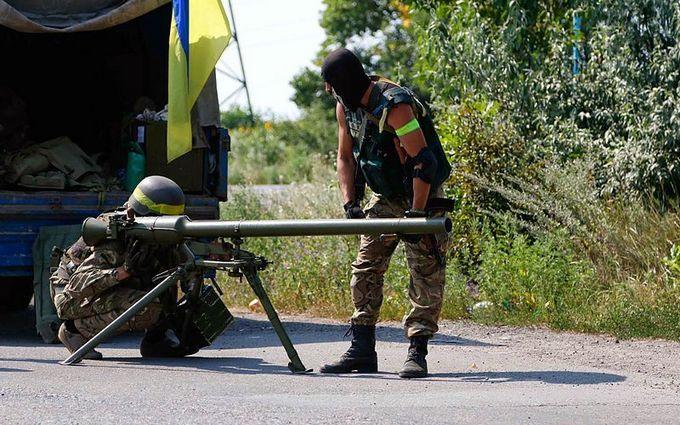 Боевики на Донбассе применили запрещенное вооружение, силы АТО понесли потери