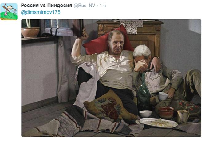 У мережі висміяли міністра Путіна з піцою і горілкою: опубліковані фото (1)