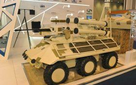 Украина представила беспилотный БТР на выставке в Турции