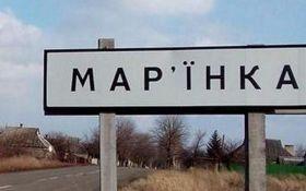 Боевики обстреляли Марьинку, школьников эвакуировали в бомбоубежище