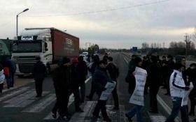 В Україні почалися протести проти нових митних правил: опубліковано відео