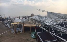 На фестивалі в Одеській області сталася трагедія: з'явилися фото і відео стихії