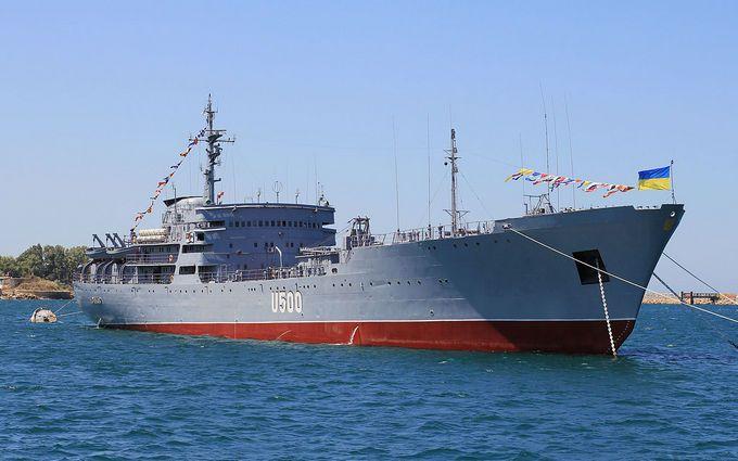 Россия обвинила украинские военные корабли во вторжении в Крым: подробности очередного беспредела