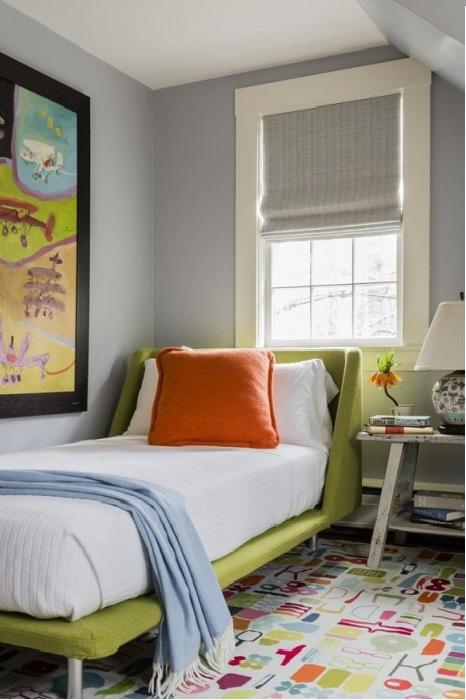 Круті ідеї, який допоможуть з оформленням дитячої спальні в стилі Mid-centry modern (17 фото) (1)