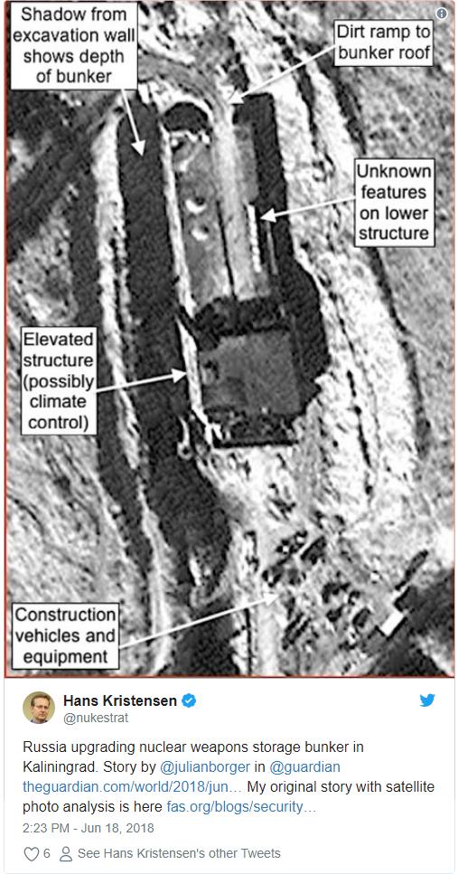 РФ оновлює сховище ядерної зброї: американські вчені опублікували шокуючі фотодокази (1)