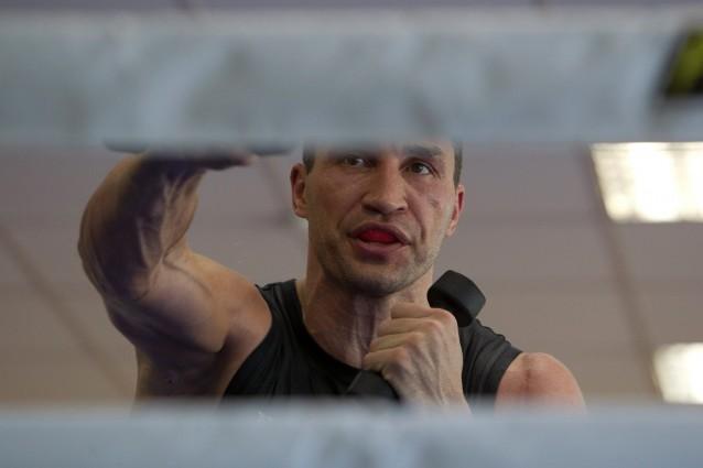 Кличко старанно готується до бою з Тайсоном: опубліковані фото (1)