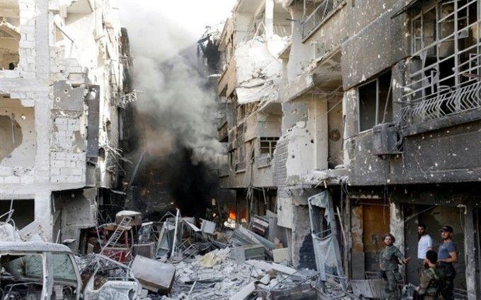 США нанесли мощный удар по военным объектам в Сирии